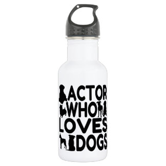 Actor Who Loves Dogs 532 Ml Water Bottle