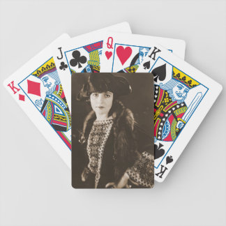 Actress Madge Bellamy 1922 Bicycle Card Deck