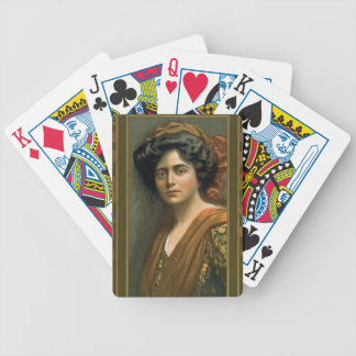 Actress Maxine Elliott 1905 Bicycle Playing Cards