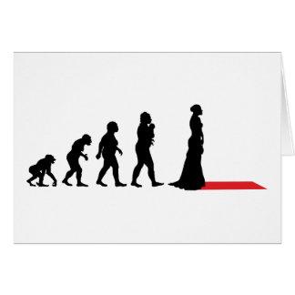 Actress On Red Carpet Card