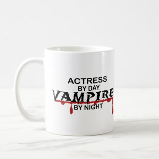 Actress Vampire by Night Coffee Mug