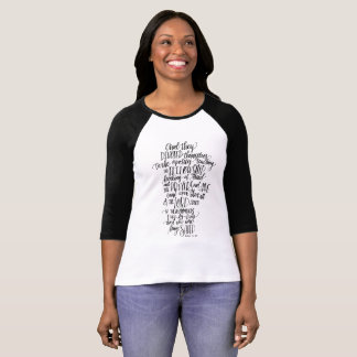 Acts 2 Modern Calligraphy T-Shirt