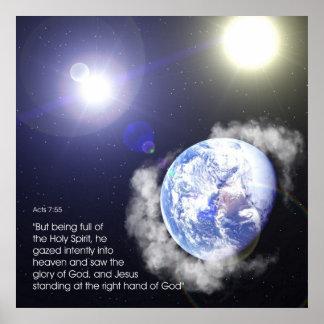 Acts 7:55 - print