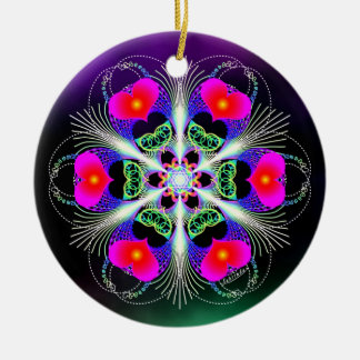 Acts of Kindness/Deep Peace Ceramic Ornament