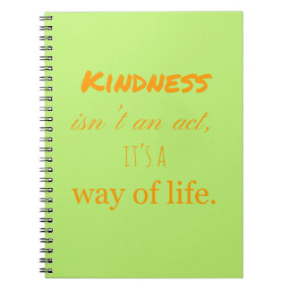 Acts of Kindness Notebook. Notebook