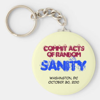 Acts of Random SANITY Keychain