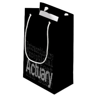 Actuary Extraordinaire Small Gift Bag