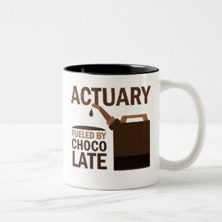 Actuary Gift (Funny) Two-Tone Coffee Mug