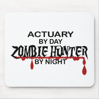 Actuary Zombie Hunter by Night Mouse Pad
