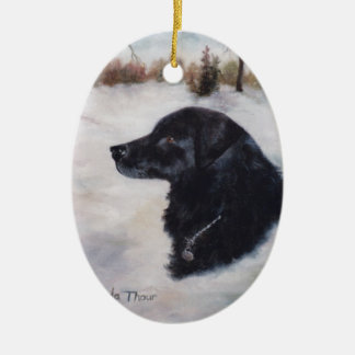 Actune Dog Portrait Ornament