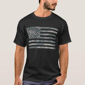 ACU Camouflage U.S. Flag T-Shirt