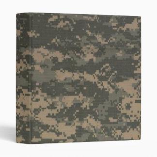 ACU Digital Camo Camouflage Binder