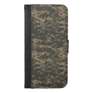 ACU Digital Camo Camouflage iPhone 6/6s Plus Wallet Case