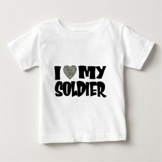 ACU Heart - I Love My Soldier Baby T-Shirt