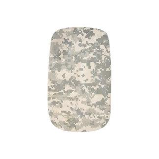 Acu Military Camouflage Pattern Destiny Peace Love Minx Nail Art