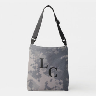 ACU Style Camo Design Crossbody Bag