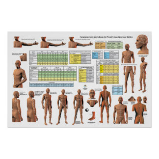 Acupuncture Meridian Points Classifications Chart