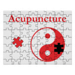 Acupuncture Puts The Pieces Together Yin Yang Poster