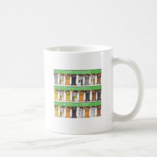 Acupuncturist Happy Holidays Coffee Mug