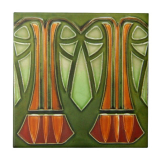 AD028 Art Deco Reproduction Ceramic Tile