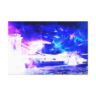 Ad Amorem Amisi Amethyst Sapphire Budapest Dreams Canvas Print