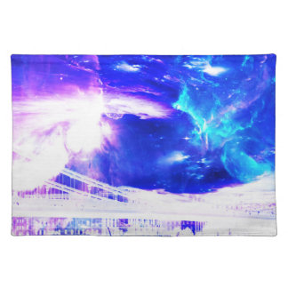 Ad Amorem Amisi Amethyst Sapphire Budapest Dreams Placemat