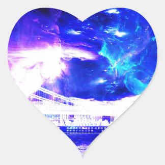Ad Amorem Amisi Amethyst Sapphire Budapest Sapphir Heart Sticker