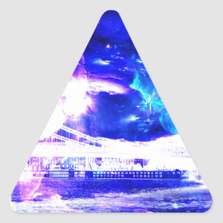 Ad Amorem Amisi Amethyst Sapphire Budapest Sapphir Triangle Sticker