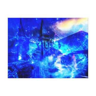 Ad Amorem Amisi Castle of Glass Canvas Print
