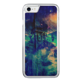 Ad Amorem Amisi Castle of Glass Carved iPhone 7 Case