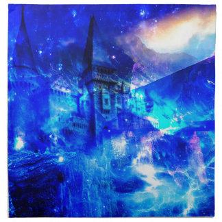 Ad Amorem Amisi Castle of Glass Cloth Napkin