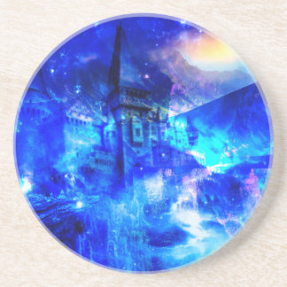 Ad Amorem Amisi Castle of Glass Coaster