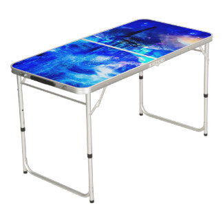 Ad Amorem Amisi Castle of Glass Pong Table