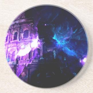 Ad Amorem Amisi Dreams of Roman Patterns Past Coaster
