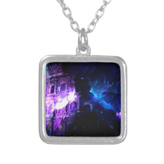 Ad Amorem Amisi Dreams of Roman Patterns Past Silver Plated Necklace