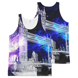 Ad Amorem Amisi London Dreams All-Over-Print Tank Top
