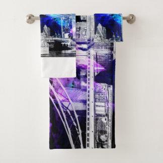 Ad Amorem Amisi London Dreams Bath Towel Set