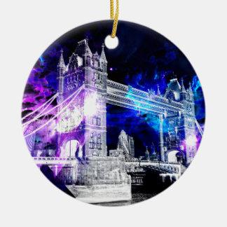 Ad Amorem Amisi London Dreams Ceramic Ornament