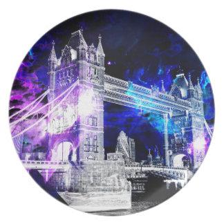 Ad Amorem Amisi London Dreams Plate