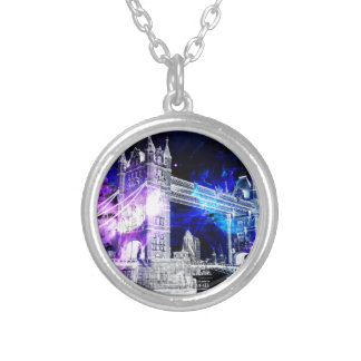 Ad Amorem Amisi London Dreams Silver Plated Necklace