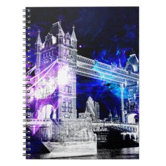 Ad Amorem Amisi London Dreams Spiral Notebook
