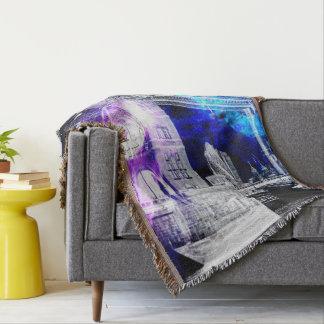 Ad Amorem Amisi London Dreams Throw Blanket