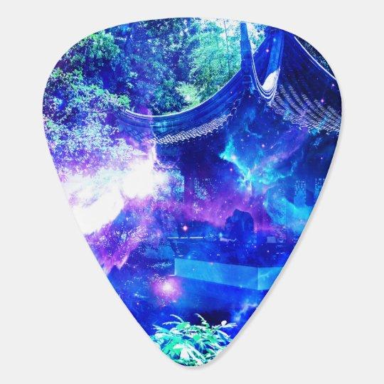 Ad Amorem Amisi Srenity Garden Guitar Pick