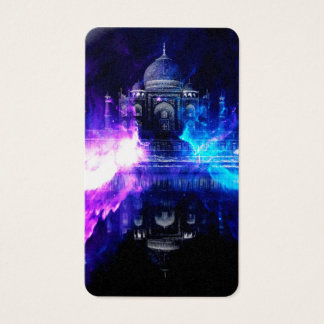Ad Amorem Amisi Taj Mahal Dreams Business Card