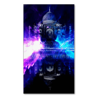 Ad Amorem Amisi Taj Mahal Dreams Magnetic Business Card