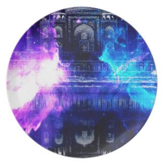 Ad Amorem Amisi Taj Mahal Dreams Plate