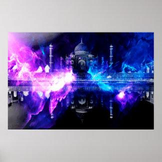 Ad Amorem Amisi Taj Mahal Dreams Poster