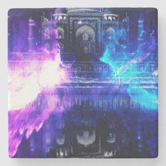Ad Amorem Amisi Taj Mahal Dreams Stone Coaster