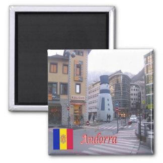 AD - Andorra - Area's Leading - Vigil of Christmas Square Magnet