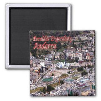AD - Andorra - Escaldes - Engordany Square Magnet